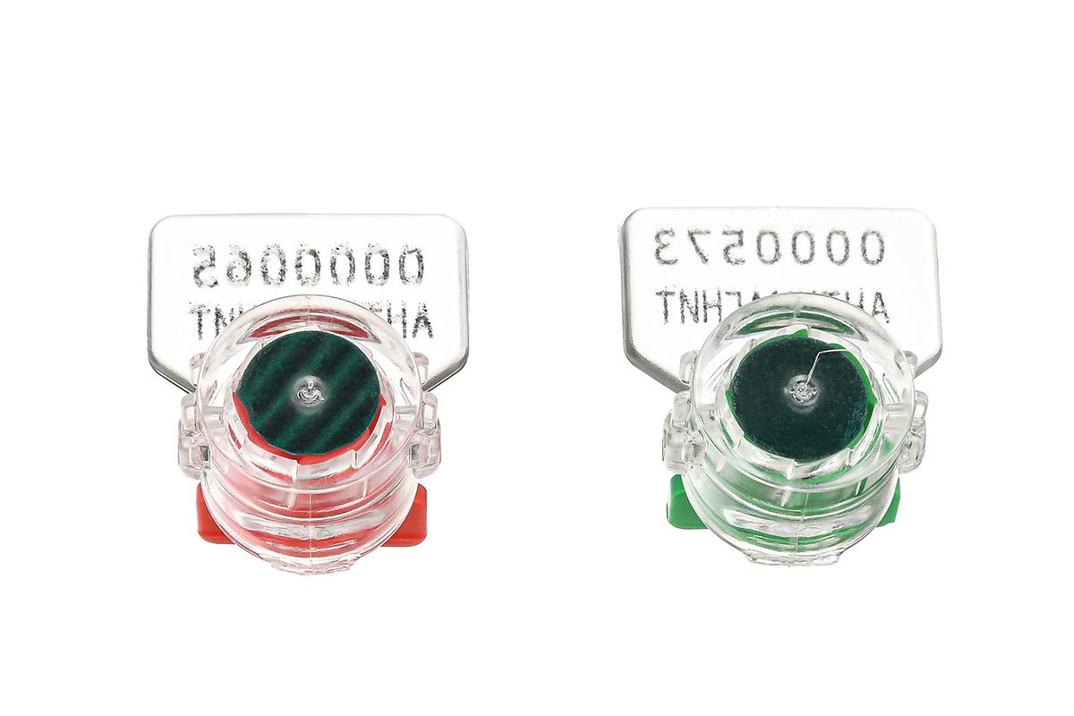 Образец роторной антимагнитной пломбы «РОТОР-3 Антимагнит»